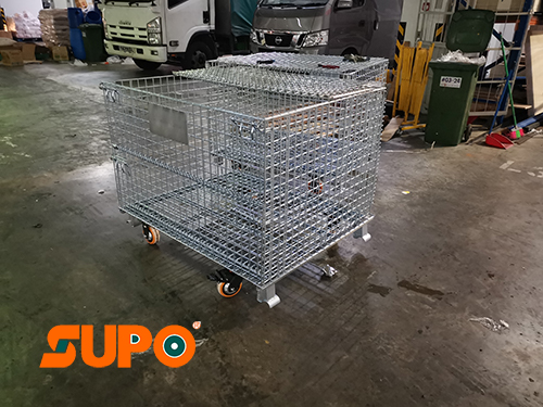 Pallet Mesh With Wheel